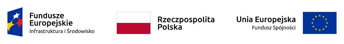 Projekt współfinansowany ze środków europejskiego funduszu spójności oraz europejskiego funduszu infrastruktury i środowiska